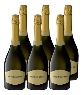 Champagne Nieto Senetiner Brut Nature Caja X 6 Botellas