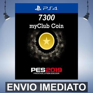 Pes 2019 7300 Myclub Coins Ps4 Codigo 12 Digitos