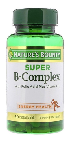 Natures Bounty Super B Complex Rendimiento Muscular Adelgaza