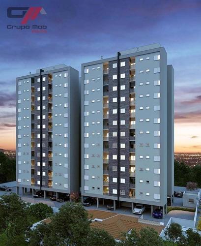 Apartamento Com 2 Dormitórios À Venda, 72 M² Por R$ 215.000,00 - Esplanada Independência - Taubaté/sp - Ap0029