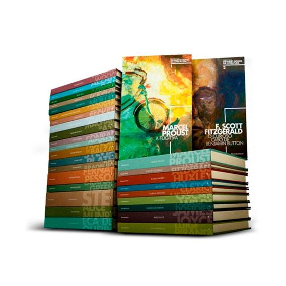 Grandes Nomes Literatura Kit Coleção Folha