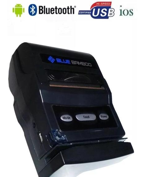 Mini Impressora Portatil Bluetooth Termica Boates P25m C/ Nf