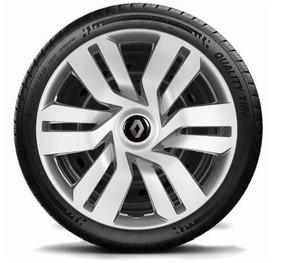 Jogo Calota Renault Sandero Logan Symbol Megane Clio Aro 15