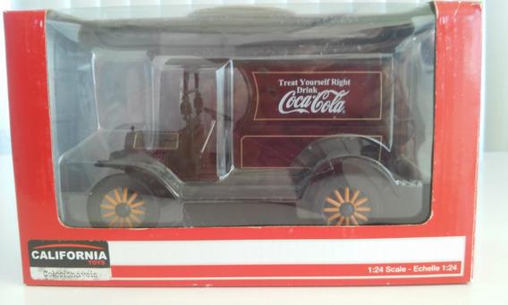 Miniatura Carro Ford Modelo T 1913 1/24 Coca Cola