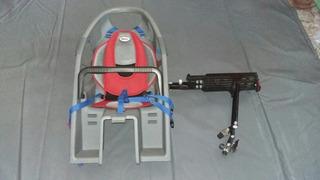 Sillita Porta Bebé Bicicleta Desmontable Bell +portaequipaje