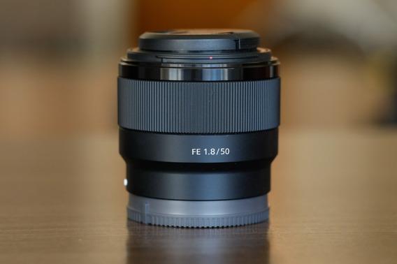 Lente Sony 50mm F/1.8 - E Mount (sony)