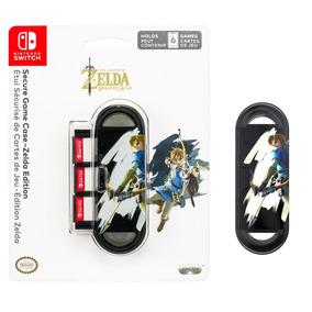 Case Nintendo Switch Para Jogos Zelda Pdp - Para 6 Games