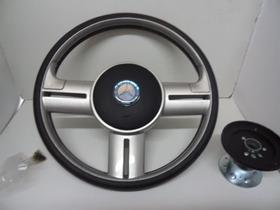 Volante Rallye Aluminio Escovado Mercedes Benz Mb Apos1990