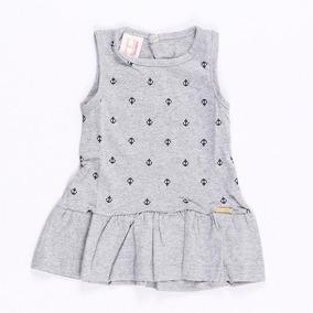 d1a24e079b Vestido Com Estampa De Ancora - Bebês no Mercado Livre Brasil