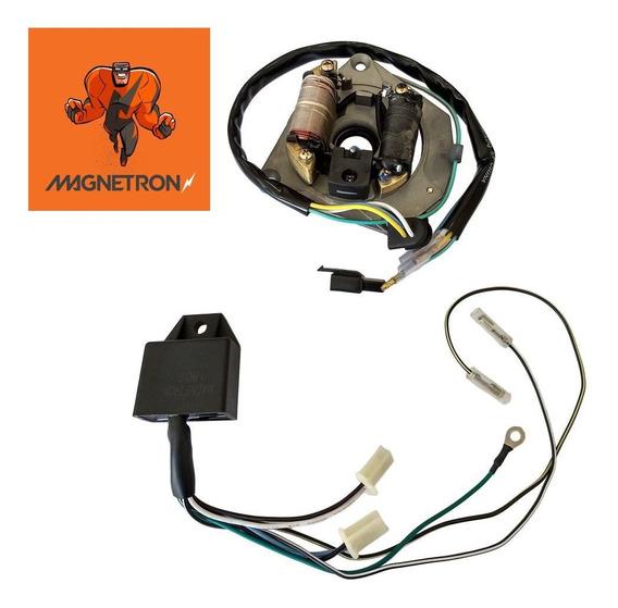 Kit Conversor Mesa Platinado Para Cdi Cg 125 Kit (magnetron)