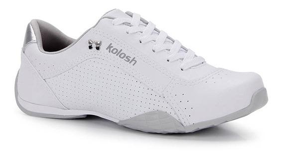 Tênis Branco Casual Kolosh