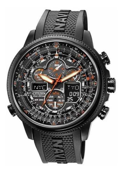 Relógio Citizen Navihawk A-t Jy8035-04e Produto Novo