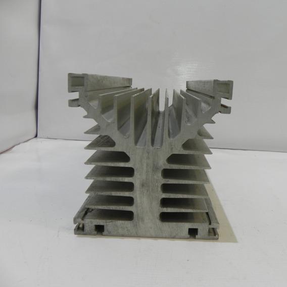 Dissipador Alumino Tipo Y Industrial 12,5x13,5x30cm