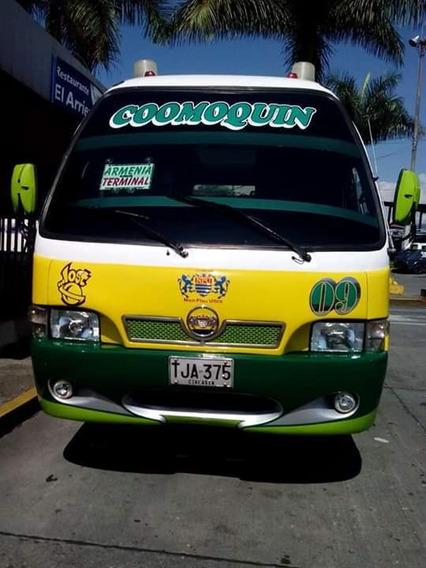 Buseta Nissan Plus 2005 Afiliada A La Empresa Coomoquin