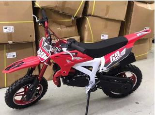 Mini Motocross 49cc Para Niños Hasta 12 Años Nuevas!!