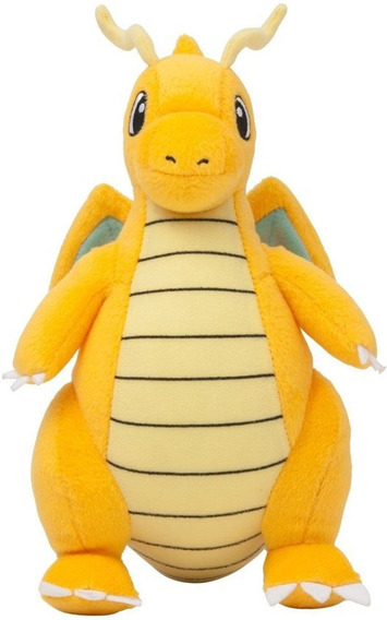 Dragonite Pokémon Pelúcia Boneco A Pronta Entrega 23 Cm