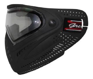 Máscara Paintball Airsoft Lente Dupla Thermal Não Dye Jogos Anti Embaçante Proteção Rosto Ajustável Tático Anti-fog