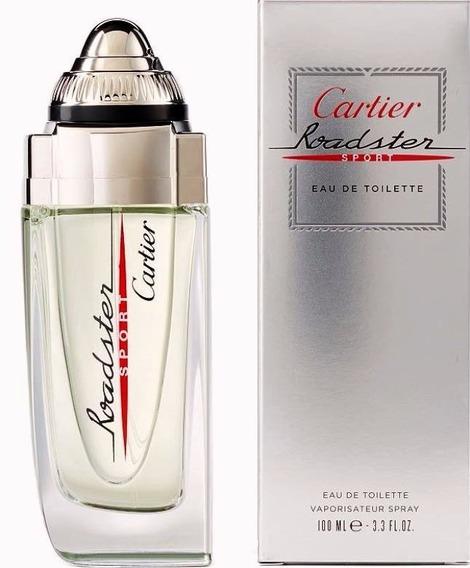 Perfume Masculino Cartier Roadster Sport Edt 100ml Original