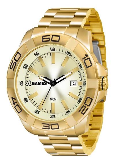 Relógio X-games Masculino Xmgs1020 C1kx Aço Dourado Oferta