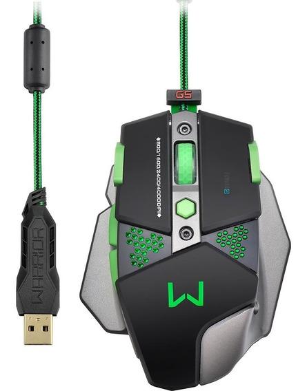Mouse Multilaser Gamer Warrior 10500 Dpi