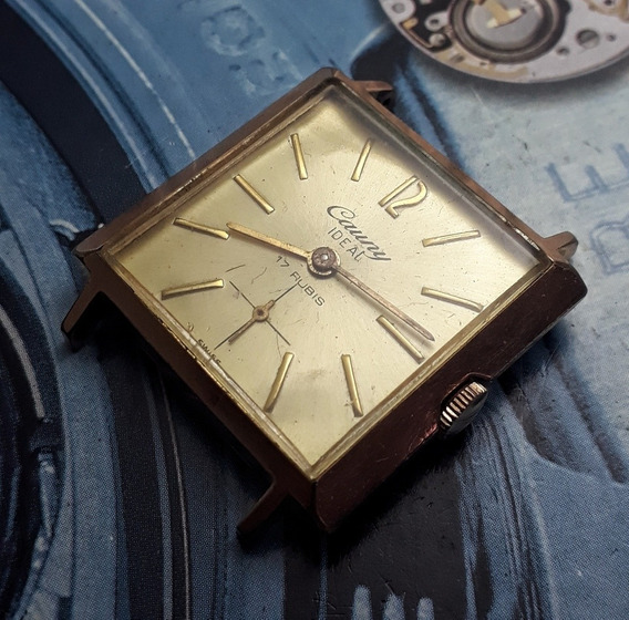 Relógio Cauny Prima Corda Manual