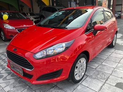 New Fiesta S 1.5 16v Flex, Completo, 2015, Vermelho