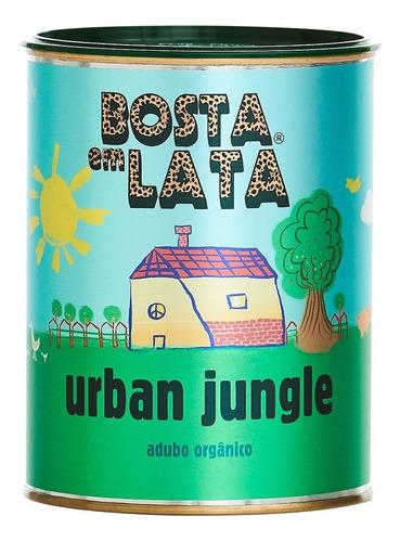 Fertilizante Orgânico Bosta Em Lata Urban Jungle - 500 G
