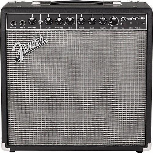 Amplificador Para Guitarra Fender Champion 40 40w Efectos