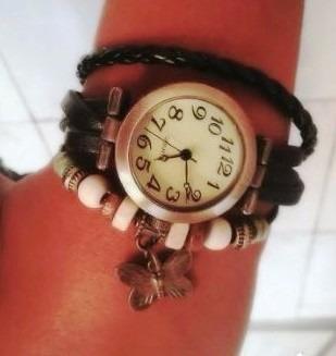 Relógio Pulseira Com Pingente Feminino Frete Gratis