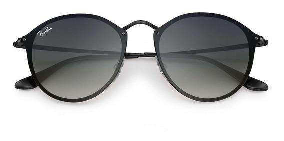 Óculos De Sol Ray Ban Rb3574 Round Blaze Original + Brinde