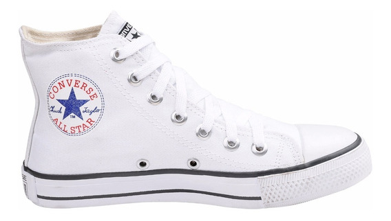 Tênis Converse All Star Ct Cano Alto Branco Off White