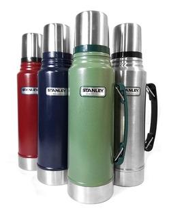 Termos Stanley 1 Litro - Todos Los Colores - Tapón Cebador
