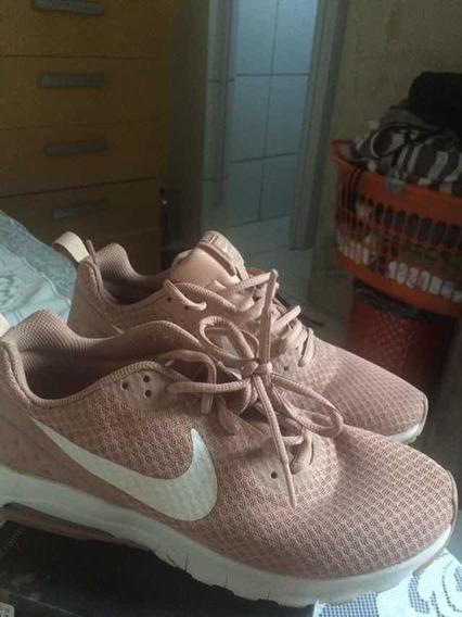Tênis Nike Air Rosa/branco