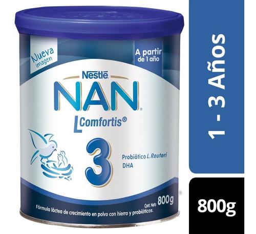 Leche Nan 3 L Comfortis 800gr