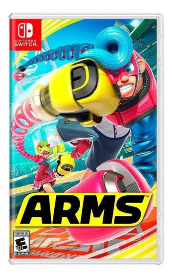 Arms Switch Mídia Física Novo Lacrado