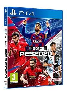 Pes 2020 Para Playstation 4 Ps4. Nuevo Sellado!!! Tienda