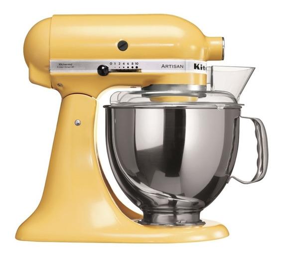 Batedeira Stand Mixer Artisan Majestic Yellow - Kea33cy