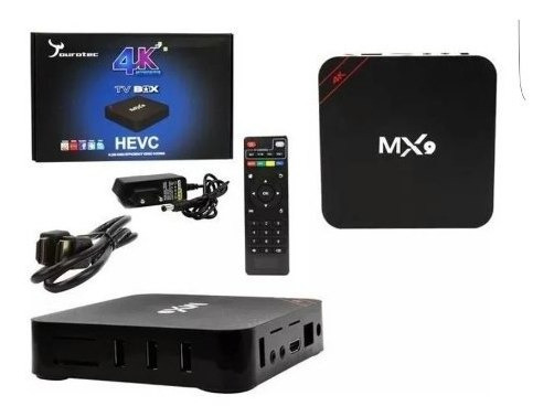 Conversor Smart Tv 3 Gb Ram 32 Gb Memória Android 9.1 À V