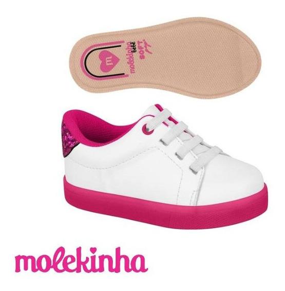 Tenis Molekinha Napa Turim/gliter Glamour 2118.531
