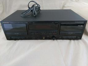 Kenowood Tape Deck Kx W-6050 Novíssimo Made In Japan 120volt