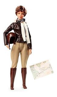 Barbie Inspiradora Mujer Amelia Earhart Doll