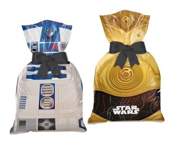 Sacola Plástica Star Wars Clássico - 08 Unidades
