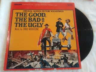 The Good, The Bad And The Ugly Soundtrack Lp Vinyl Omi