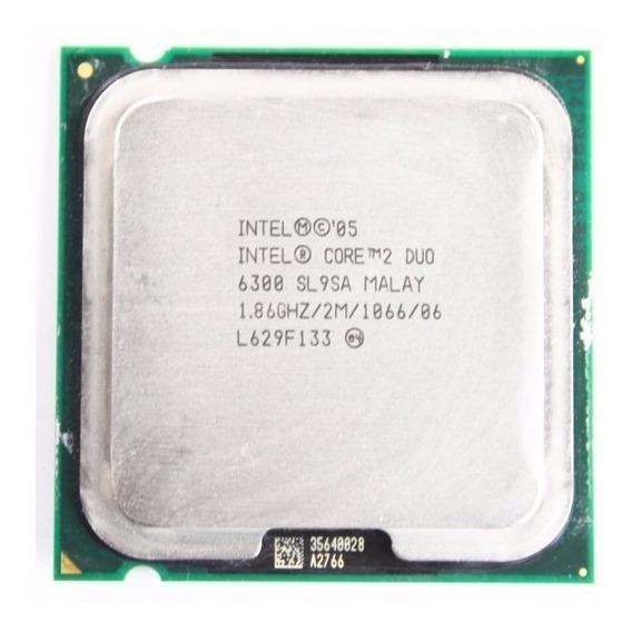 Processador Core2duo E6300 - 1.86ghz.