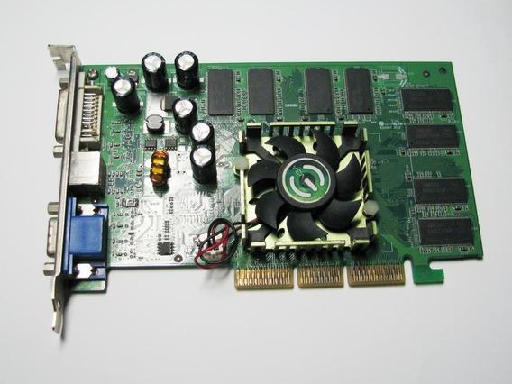 Tarjeta De Video Agp 8x Nvidia Fx5500 256 Mb, Evga