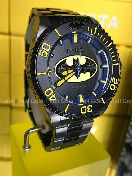 Relógio Invicta Batman 26901 Automático Original De Verdade