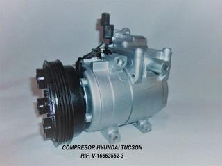 Compresor De Hyundai Tucson Getz Elantra Accent F500