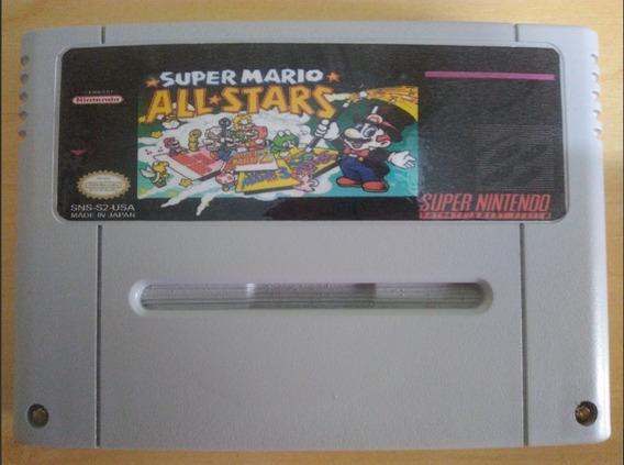 Super Mario All Stars Repro Em Inglês Salvando Snes
