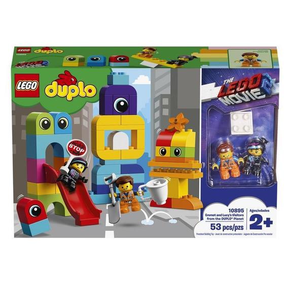 Lego 10895 Visitas De Emmet Y Lucy Desde El Planeta Duplo