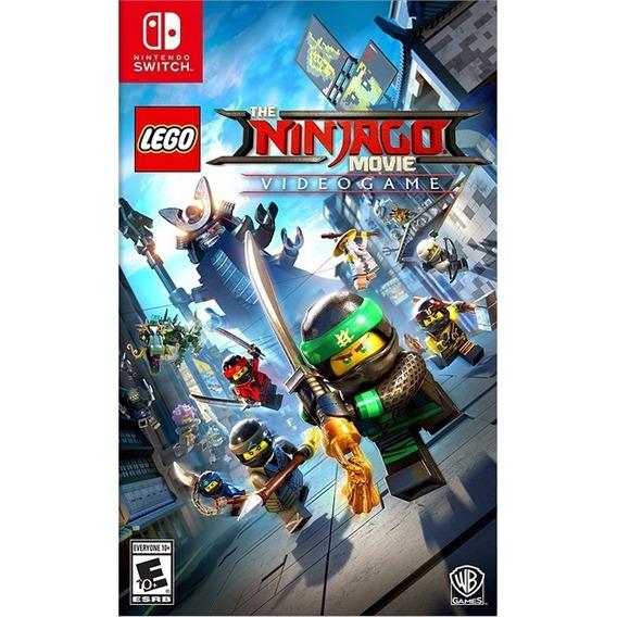 Lego Ninjago Movie Nintendo Switch Midia Fisica Novo Lacrado